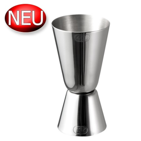 Jigger Ø4cm/height8,5cm Stainless Steel - 1pc.
