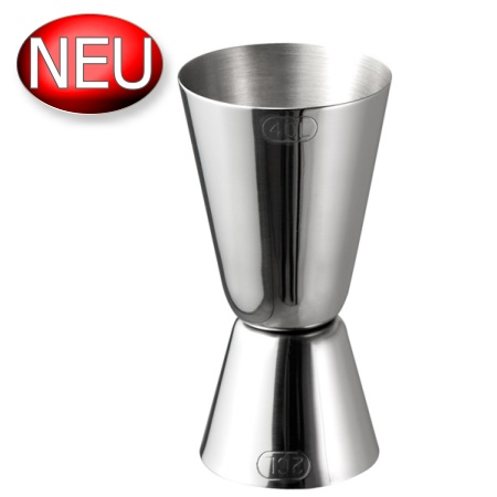 Jigger Ø3,5cm/height8,5cm Stainless Steel - 1pc.