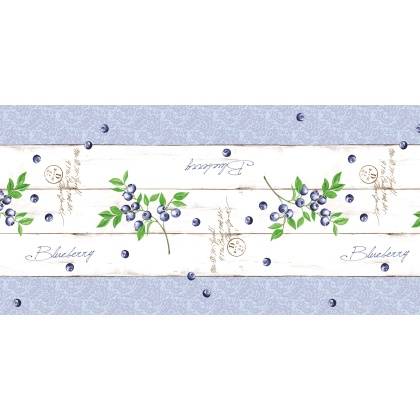 Table Runners BLUEBERRY 40cmx24lfm LINCLASS-Airlaid blue - 4pcs.