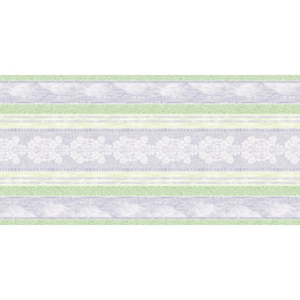 JEANY Table Runners 40cmx24lfm AIRLAID grey/green - 4pcs.