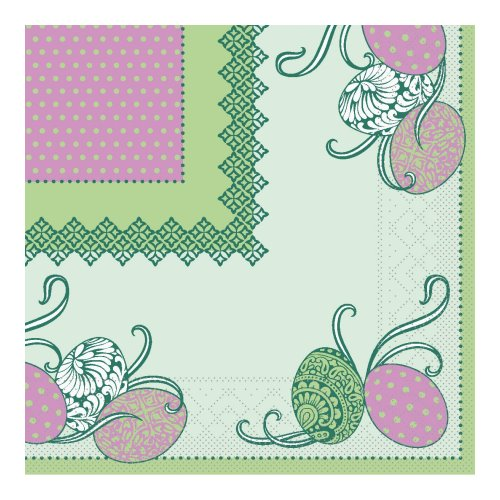 ANDY Napkins 33x33cm TISSUE green - 800pcs.
