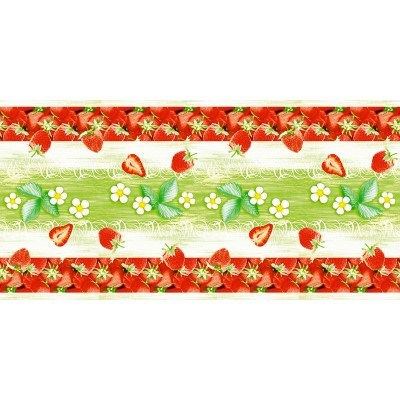 STRAWBERRY Table Runners 40cmx24lfm LINCLASS-Airlaid red - 4pcs.