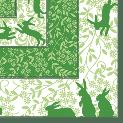 EASTER! EGON Napkins 40x40cm AIRLAID green - 600pcs.