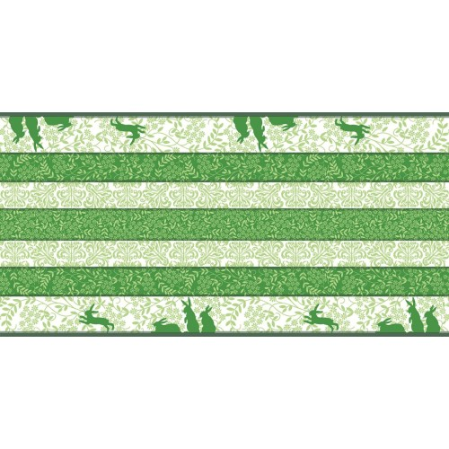 EASTER! EGON Table Runners 40cmx24lfm AIRLAID green - 4pcs.