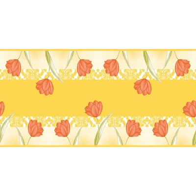 SALLY Table Runners 40cmx24lfm LINCLASS-Airlaid yellow/orange -