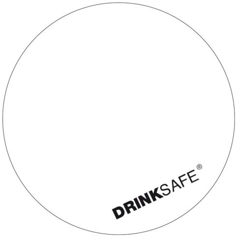 DRINKSAFE Paper Caps Ø62mm Matt Carton white - 200pcs.