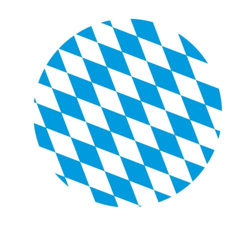 BAYERN DrinkSafe PaperCaps Ø82mm Matt Carton blue/white - 200pcs