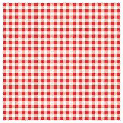 KARO Table Cloths 80x80cm LINCLASS-Airlaid red - 60pcs.