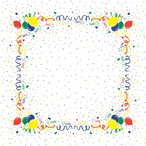 PARTY TableCloths 80x80cm LINCLASS-Airlaid colorful - 60pcs.