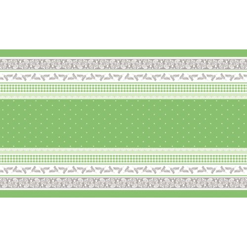 CETO Table Runners 40cmx24lfm AIRLAID  green - 4pcs.