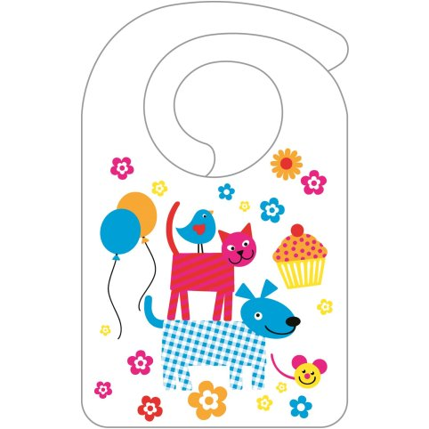 HAPPY KIDS Bibs 20x32cm AIRLAID/Pearl Coating - 1000pcs.