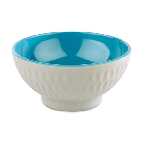 Bowl ASIA+ Ø9,5cm/height4,5cm MELAMIN white/blue - 1pc.