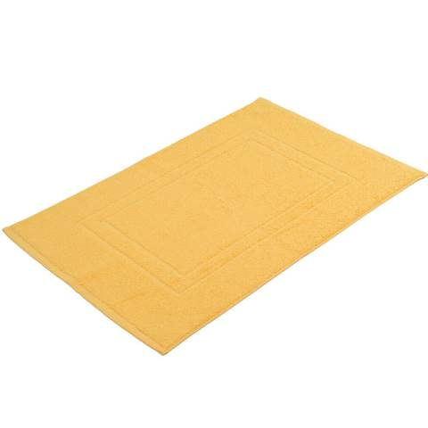 Bath Mat SYLT TerryCloth 50x70cm COTTON gold - 2pcs.