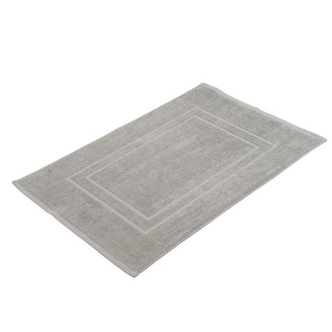 Bath Mat SYLT TerryCloth 50x70cm COTTON silver-grey - 2pcs.