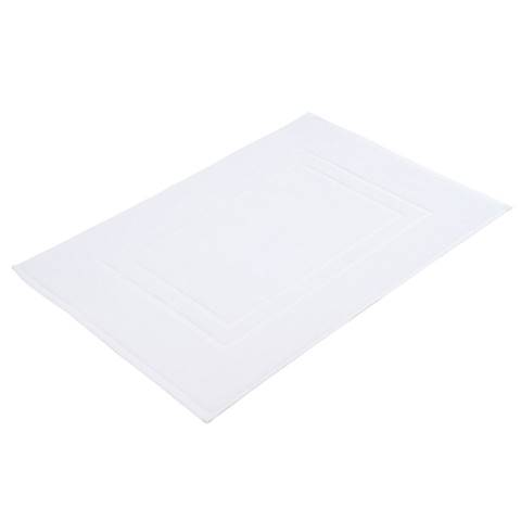 Bath Mat SYLT TerryCloth 50x70cm COTTON white - 2pcs.