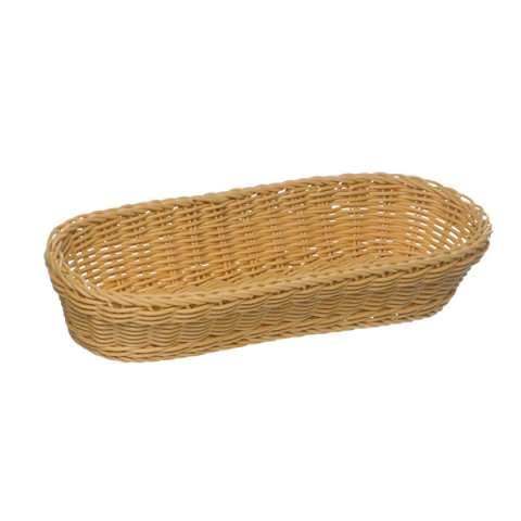 Baguette Basket 28x16cm/height8cm PP-Plastic light beige - 1pc.