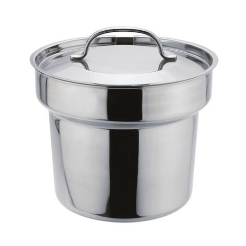 Bain Marie POT Ø20cm/height18cm Stainless Steel - 1pc.