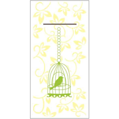 ALICE Pocket Napkins 1/8Fold LINCLASS yellow - 300pcs.