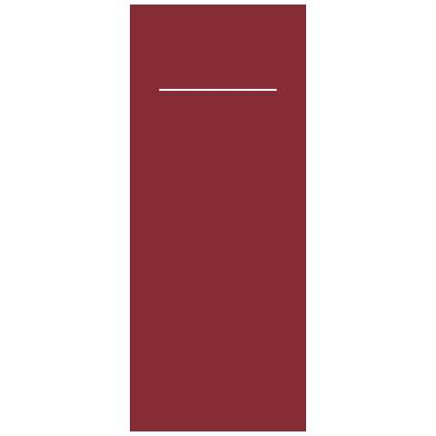BASICS Pocket Napkins BORDEAUX 40x33cm LINCLASS-Light - 300pcs.