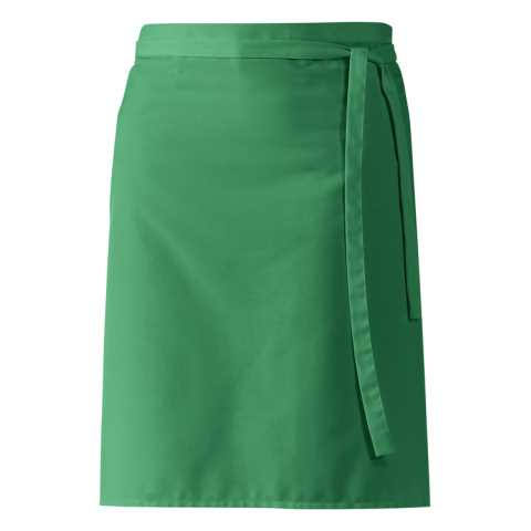 Apron Bistro Pinafores 60x80cm Polyester/Cotton green - 1pc.