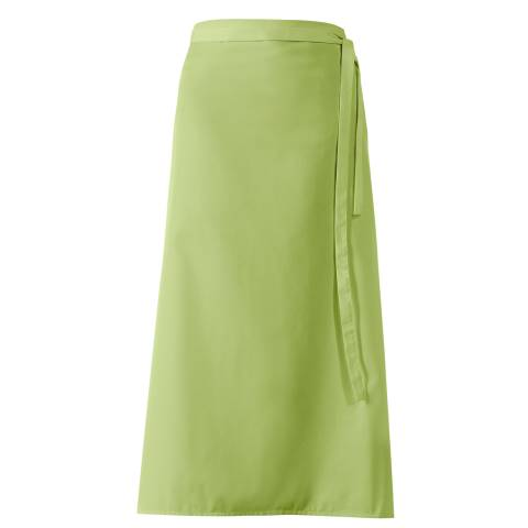 Bistro Apron DELUXE 100x100cm Polyester/Cotton applegreen - 1pc.