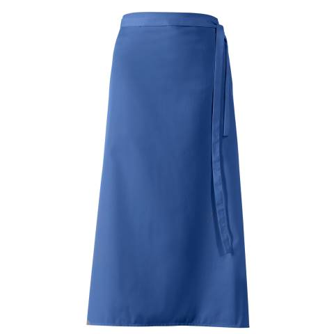 Bistro Apron DELUXE 100x100cm Polyester/Cotton blue - 1pc.