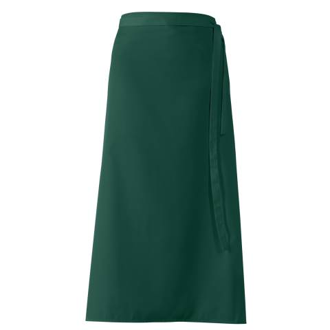 Bistro Apron DELUXE 100x100cm Polyester/Cotton bottlegreen - 1pc