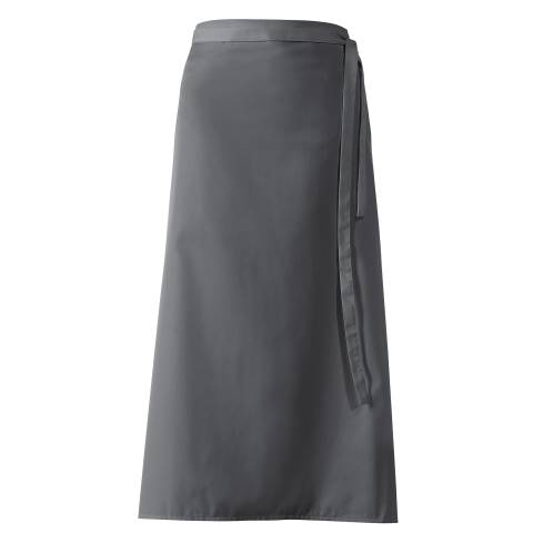 Bistro Apron DELUXE 100x100cm Polyester/Cotton grey - 1pc.