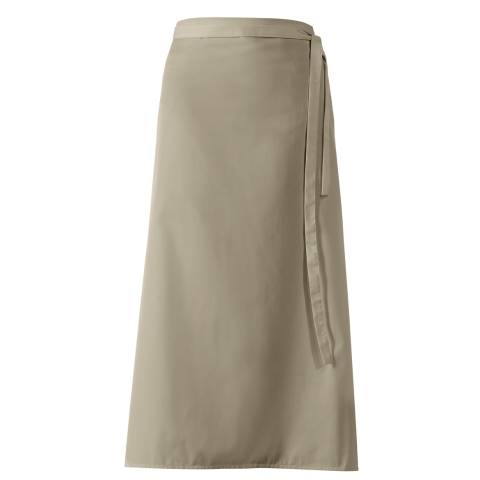 Bistro Apron DELUXE 100x100cm Polyester/Cotton sand - 1pc