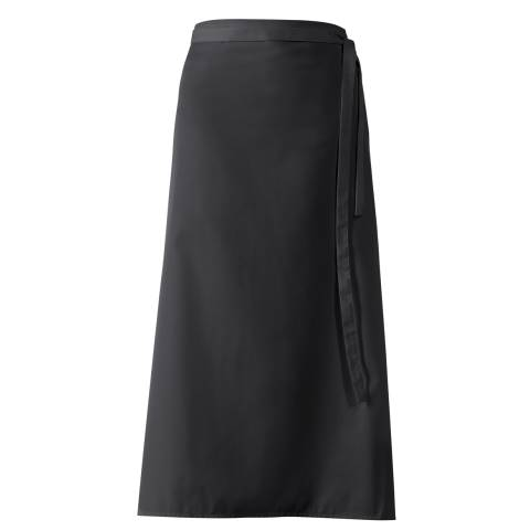 Bistro Apron DELUXE 100x100cm Polyester/Cotton black - 1pc.