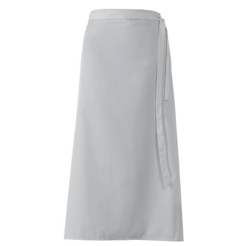Bistro Apron DELUXE 100x100cm Polyester/Cotton silver grey - 1pc