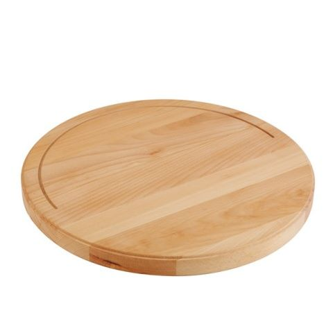 Buffet-Board XXL round Ø50cm/height4,5cm WOOD/beech - 1pc.
