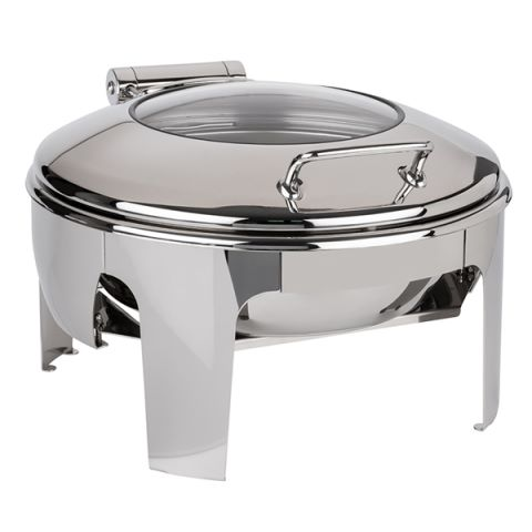 ChafingDish EASY INDUCTION 6ltr Height30cm STAINLESS STEEL 1pc.