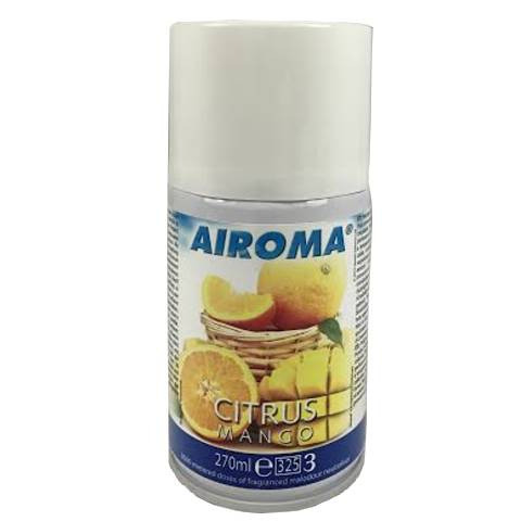 Duftspray/Raumduft AIROMA Aerosol Citrus-MANGO 270ml - 1Stk.