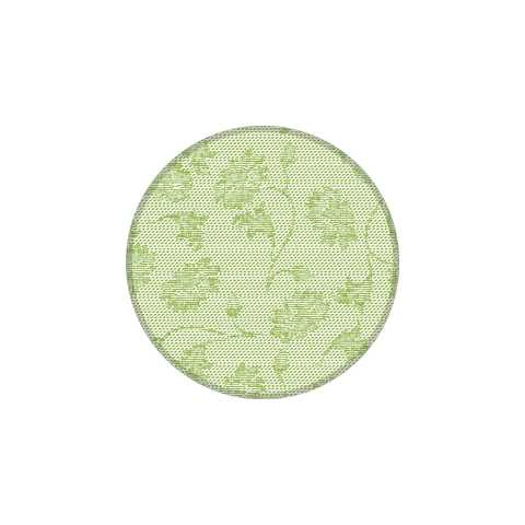 LISBOA Coasters Ø90mm 9-ply TISSUE green - 1000pcs.