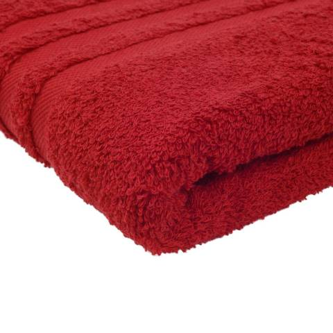Shower Towel SYLT Towels 70x140cm COTTON bordeaux - 2pcs.