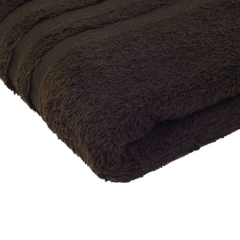 Shower Towel SYLT Towels 70x140cm COTTON brown - 2pcs.