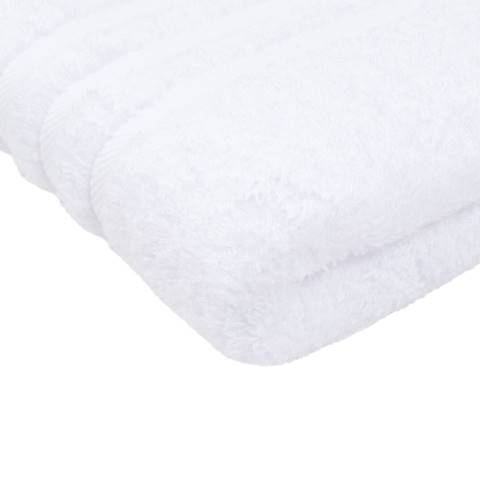 Shower Towel SYLT Towels 70x140cm COTTON white - 2pcs.
