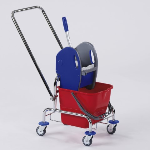 Simply Trolley 17liter 76x42cm/height89cm chromed - 1pc.