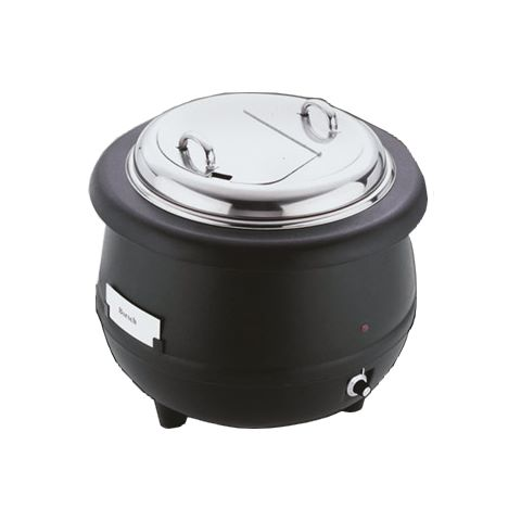 Electric Soup Warmer 10ltr Ø40cm/height37cm StainlessSteel - 1pc