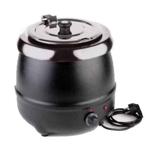 Electric Soup Warmer 9ltr Ø32cm/height36cm StainlessSteel - 1pc