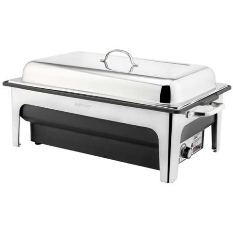 Electric ChafingDish 14ltr 63x36cm/height29cm StainlessSteel - 1