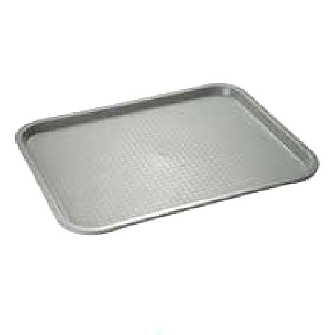 Snack/Fast Food Tray 35x27cm/height2cm grey - 1pc.