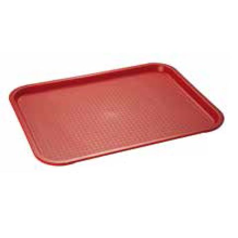 Fast Food-Tray 4Colors 35x27cm/height2cm red - 1pc.