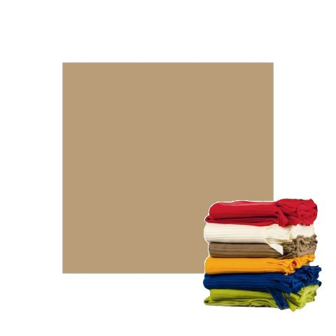 Fleece Blanket 100x150cm Polyester cappuccino - 1pc.
