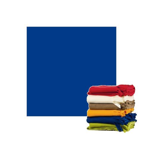 Fleece Blanket 100x150cm Polyester blue - 1pc.