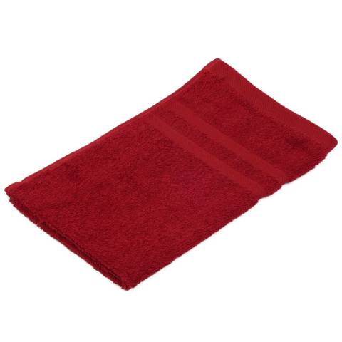 Guest Towel SYLT Towels 30x50cm COTTON bordeaux - 12pcs.