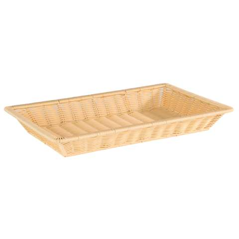 Basket SUPERSTRONG GN1/1 Height6,5cm PP-Plastic lightbeige - 1p