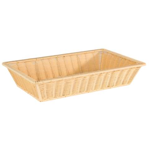 Basket SUPERSTRONG GN1/1 Height10cm PP-Plastic lightbeige - 1p