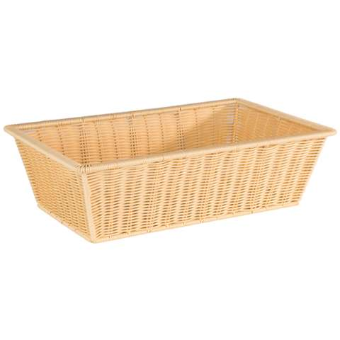 Basket SUPERSTRONG GN1/1 Height15cm PP-Plastic lightbeige - 1p